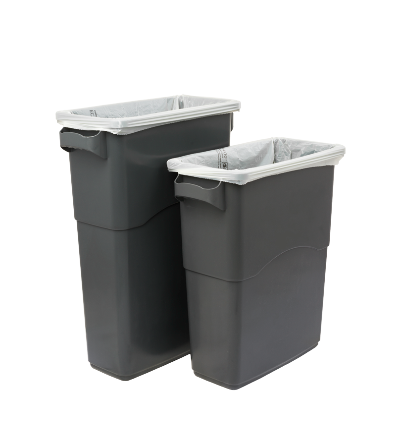 Commercial Trash Bin Sizes : Ecosafe commercial zero waste bins