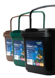 Ecosafe Green | Zero waste Retail Kitchen Caddy Compost Bin