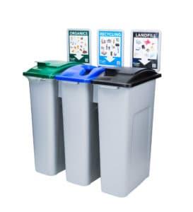 Ecosafe Green | Zero waste EcoStation Zero Waste Bins Source Separation