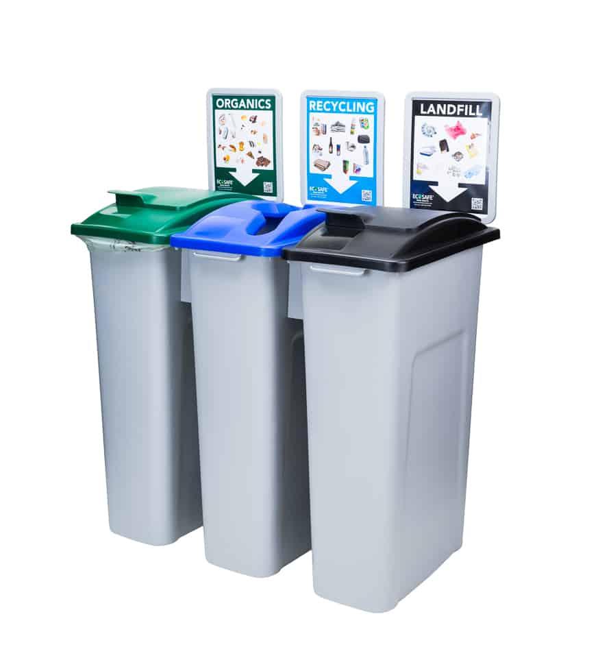 Ecosafe Green   Zero waste EcoStation Zero Waste Bins Source Separation