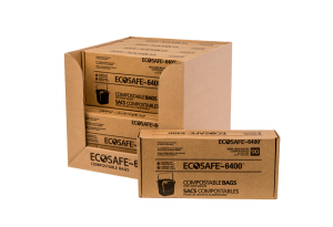 EcoSafe 6400 compostable bags club pack cp1617-6