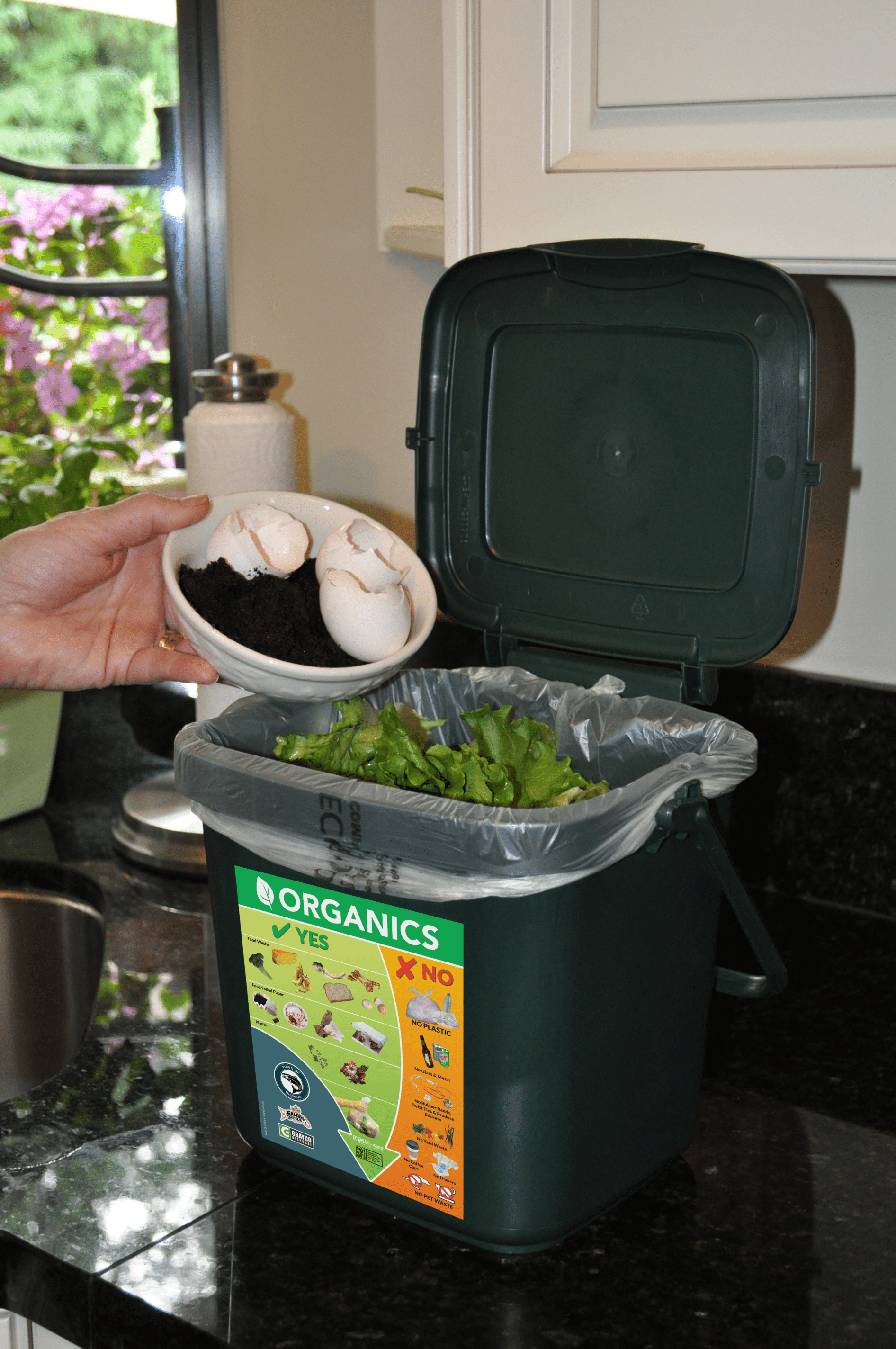 EcoSafe Zero Waste - compost bin
