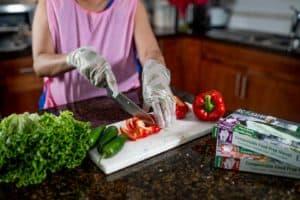 Ecosafe Green | Zero waste - chopping vegetables