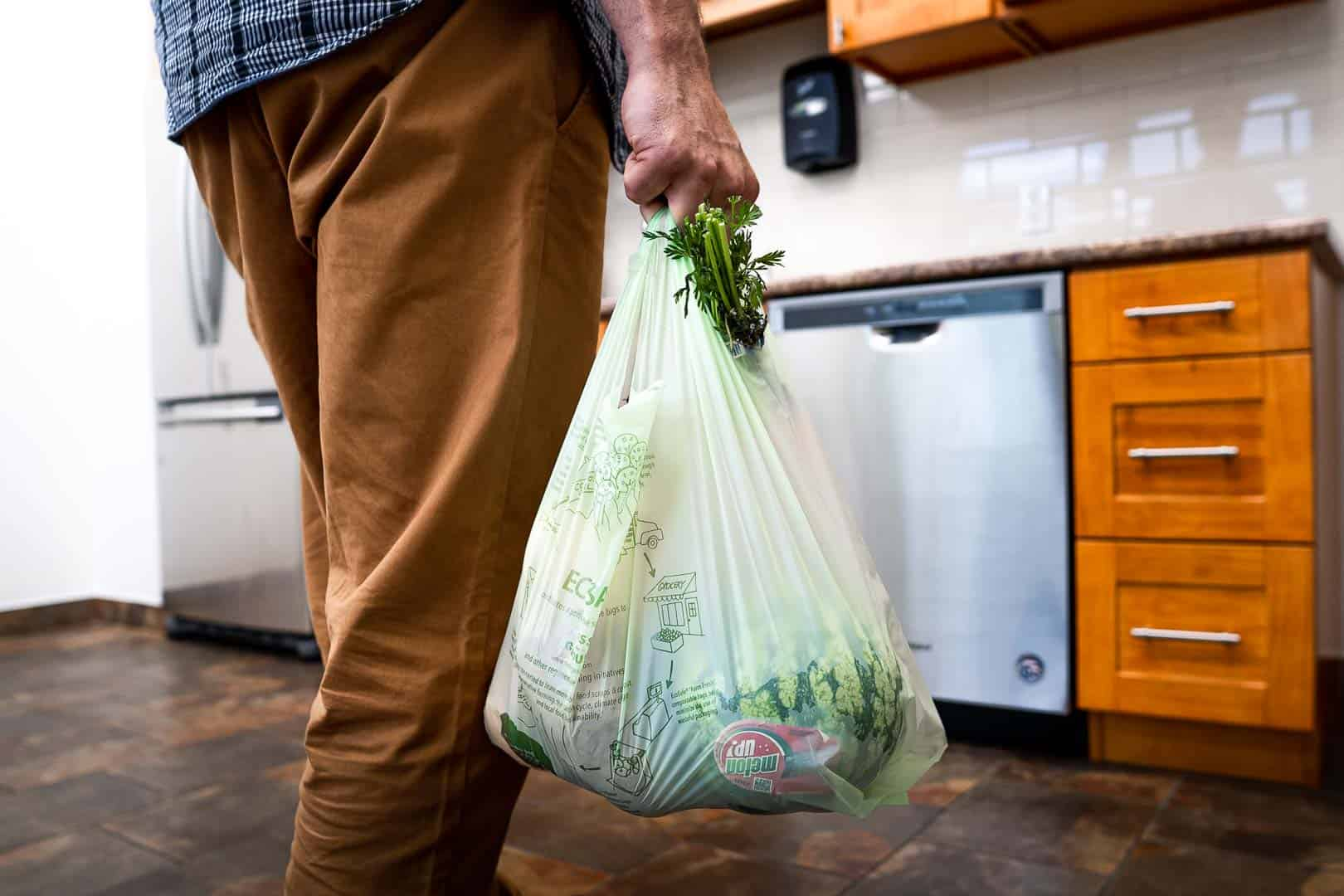 Ecosafe Green   Zero waste - produce in bags