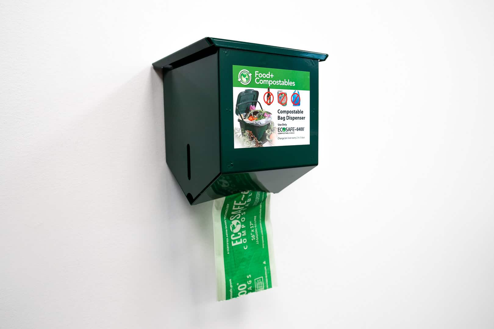 Ecosafe Green   Zero waste - compost bags