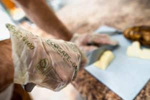 Ecosafe Green | Zero waste - chopping food on a cutting board