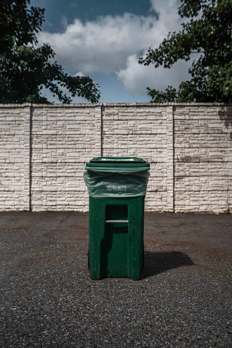 Ecosafe Green   Zero waste - waste bin