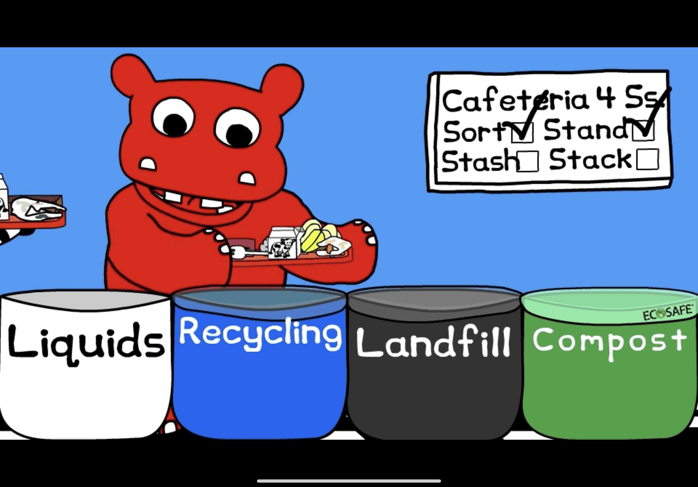 Ecosafe Green   Zero waste - waste bins