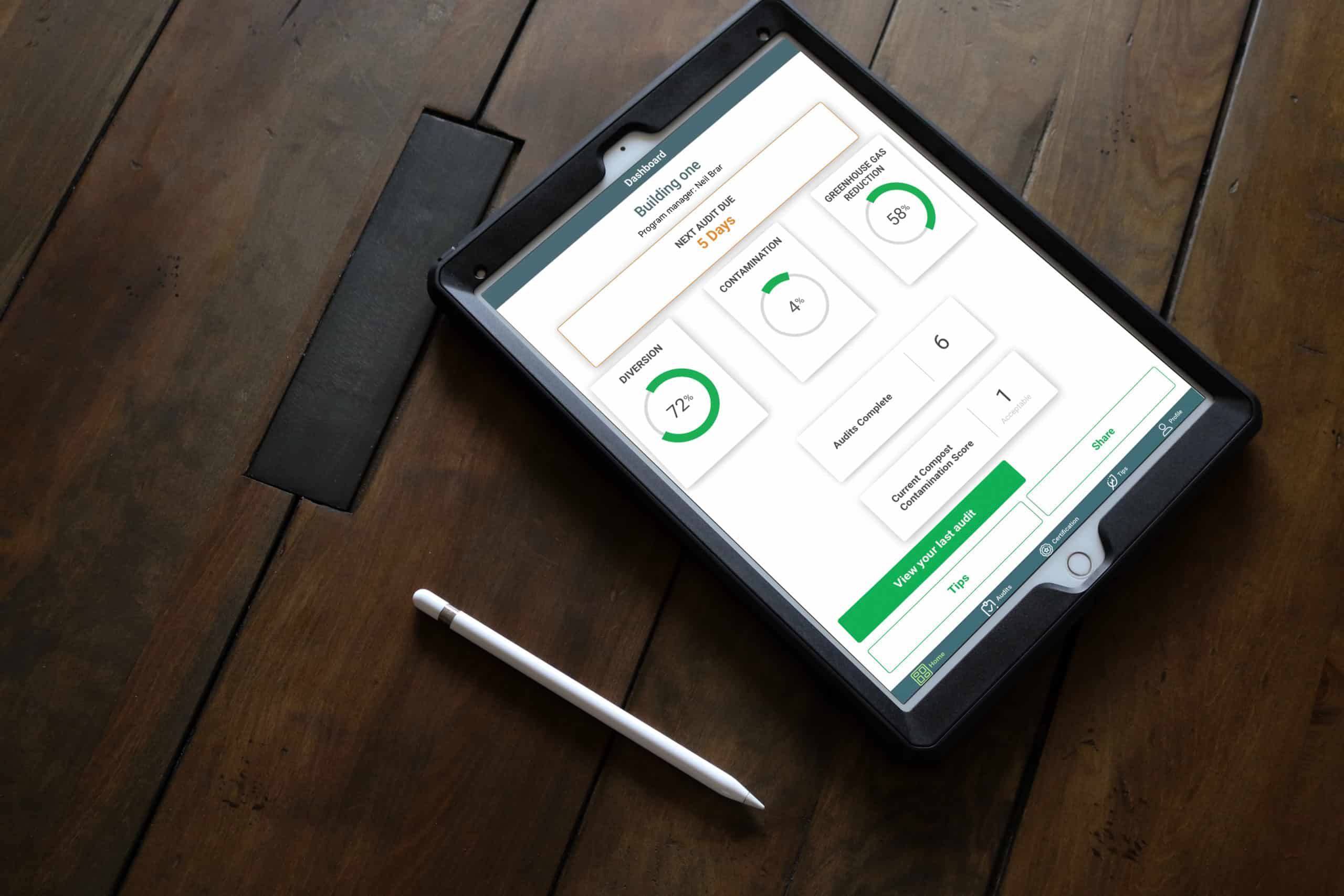Ecosafe Green | Zero waste - tablet